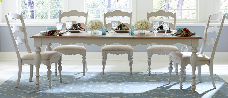 Legacy Classic Sanibel Dining Set - Driftwood/Mist Paint
