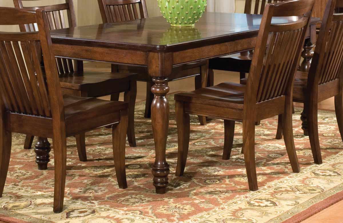 Legacy Classic Canyon Creek Rectangular Leg Extension Table 2 618 ...