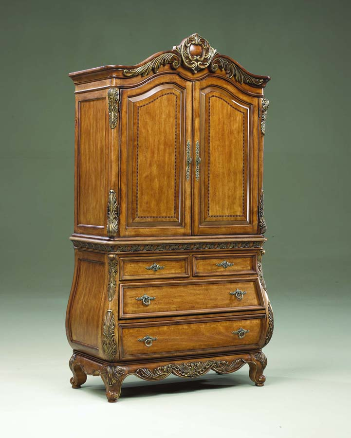 Legacy Classic Versailles Armoire Top with Bachelor's Chest