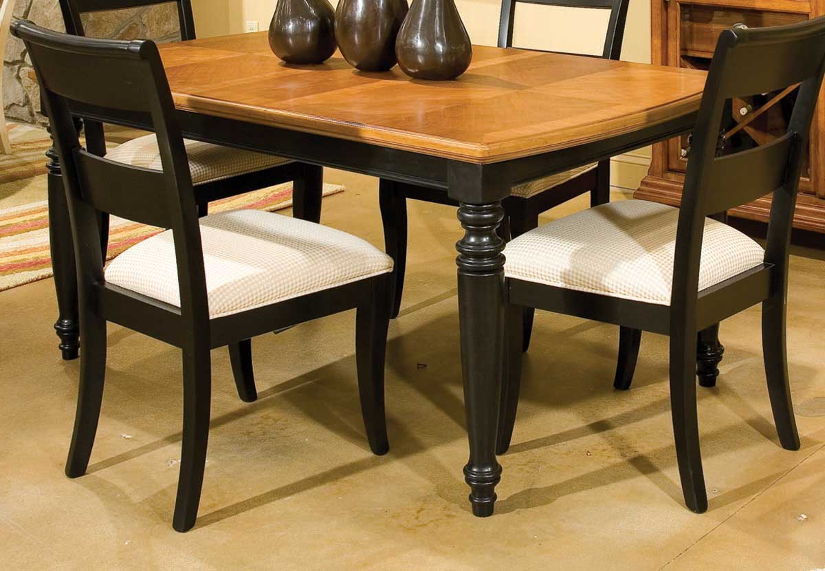 Legacy Classic Dining a la Carte Rectangular Leg Extension Table