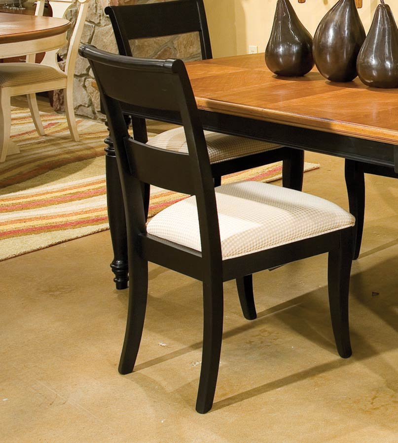 Legacy Classic Dining a la Carte Ladder Back Side Chair