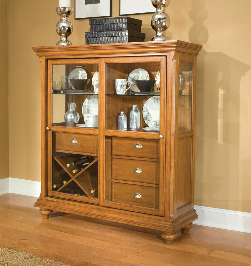 Legacy Classic Dining a la Carte Cupboard with Sliding Door
