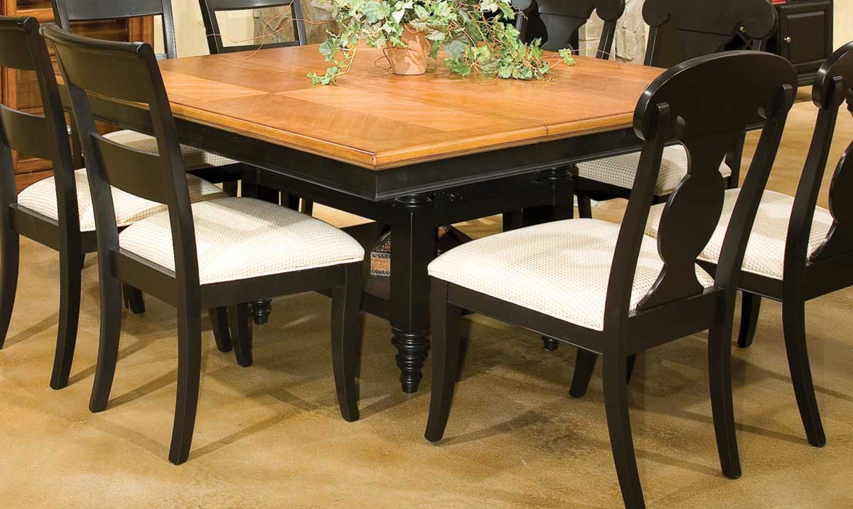 Legacy classic dining a la carte square pedestal extension for Legacy classic dining table