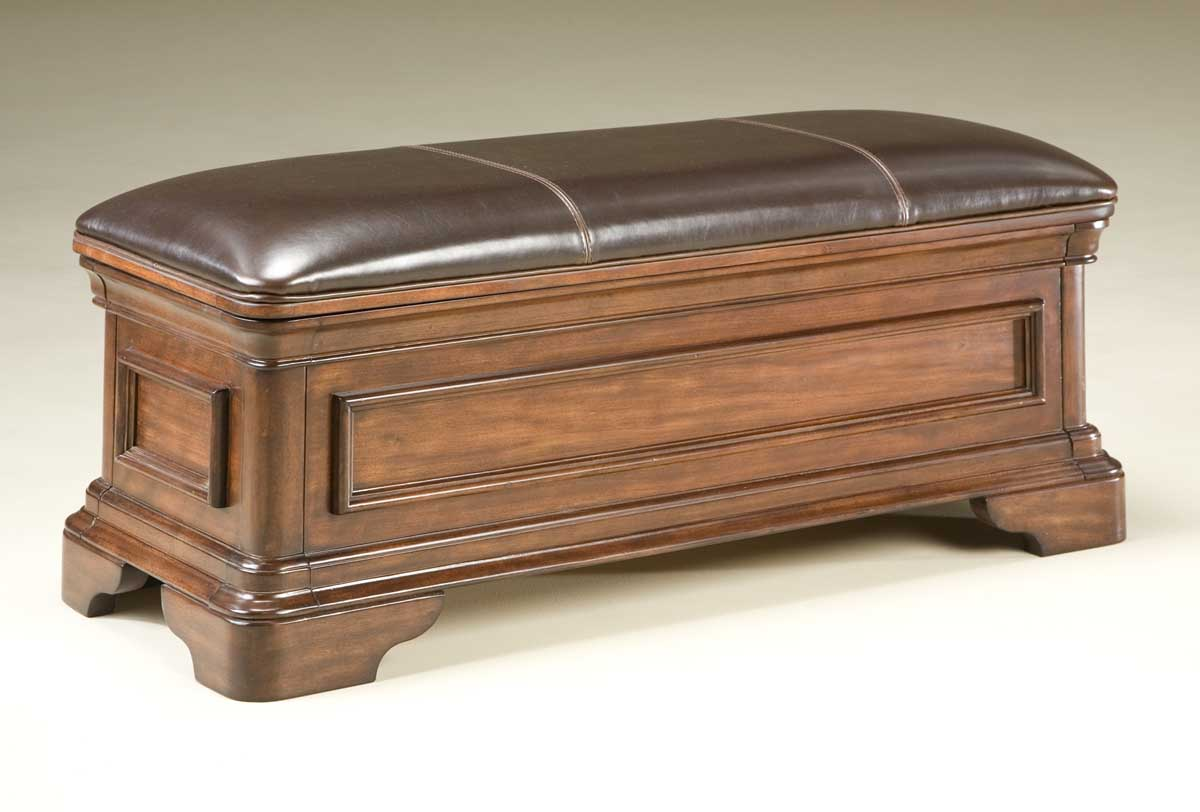 Legacy Classic Heritage Court Leather Storage Bench 800 4800 At
