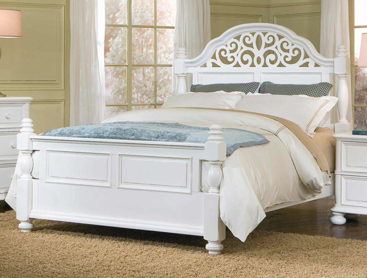 Legacy Classic South Hampton Low Post Bed