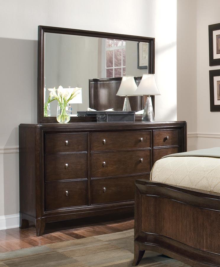Legacy Classic Mercer Street Dresser with Rectangular Landscape Mirror