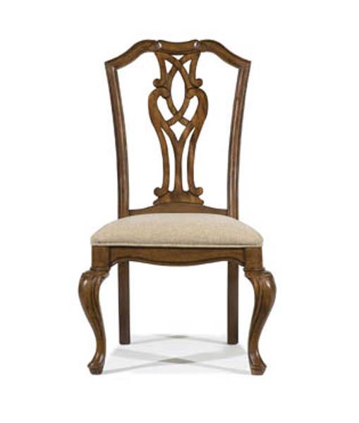 Legacy Classic Evolution Pierced Splat Back Side Chair