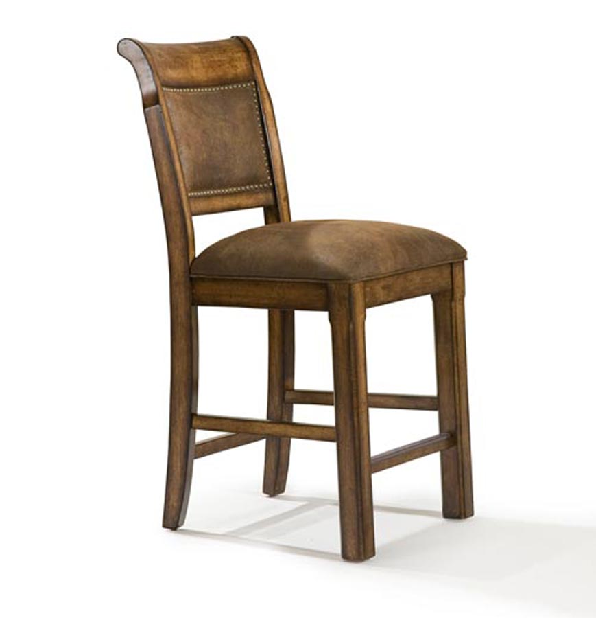 Legacy classic larkspur upholstered back high dining chair for High back dining room chair