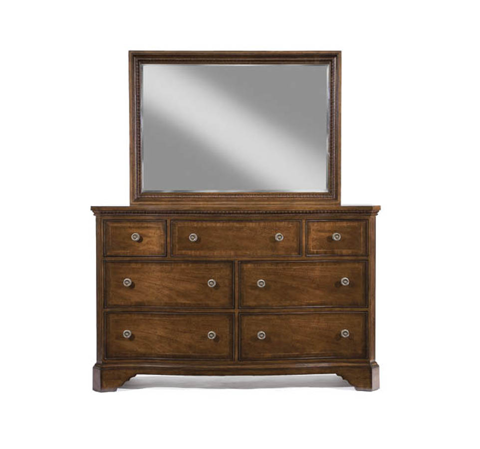 Legacy Classic American Traditions Dresser With Rectangular Landscape Mirror 9350 0300 1200