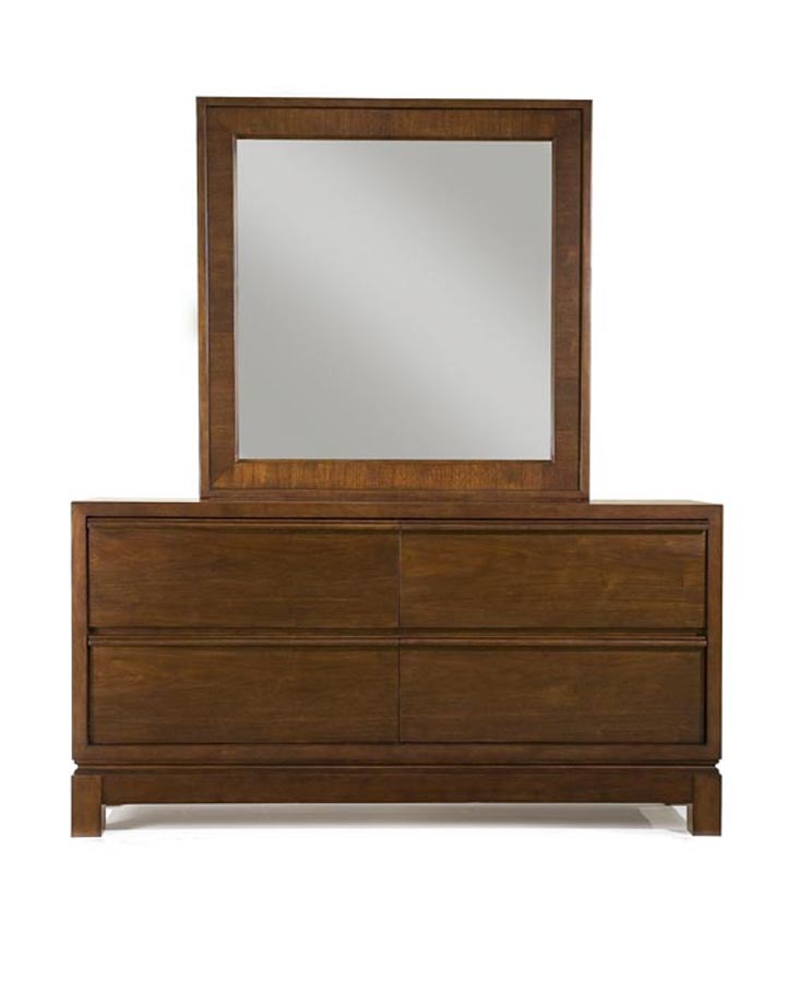 Legacy Classic Perspectives Dresser with Square Mirror