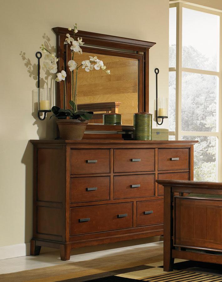Legacy Classic Autumn Park Dresser with Landscape Mirror