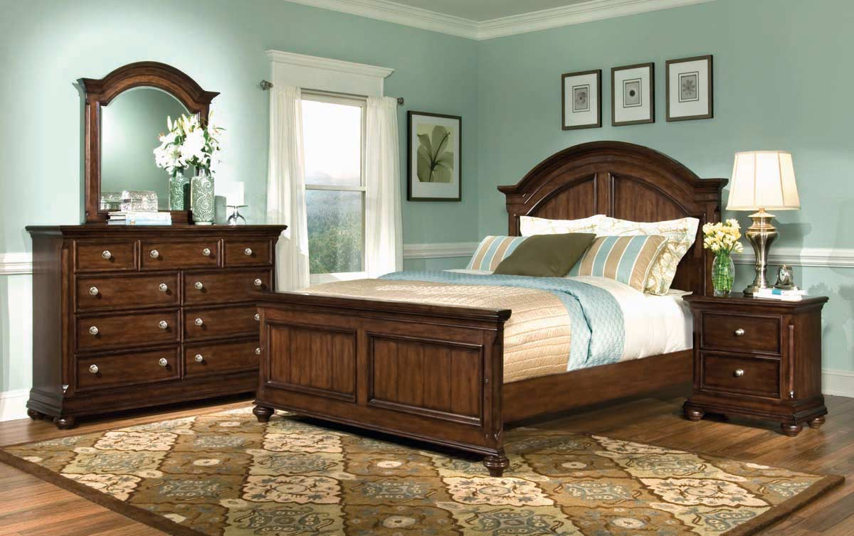 Legacy Classic Canyon Creek Arched Panel Bedroom Collection