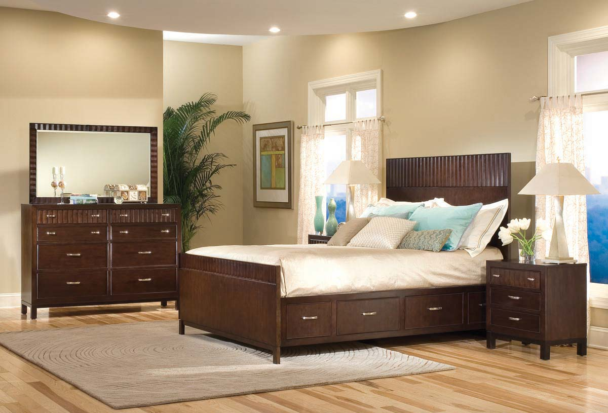 Legacy Classic Vista Panel Bedroom Collection