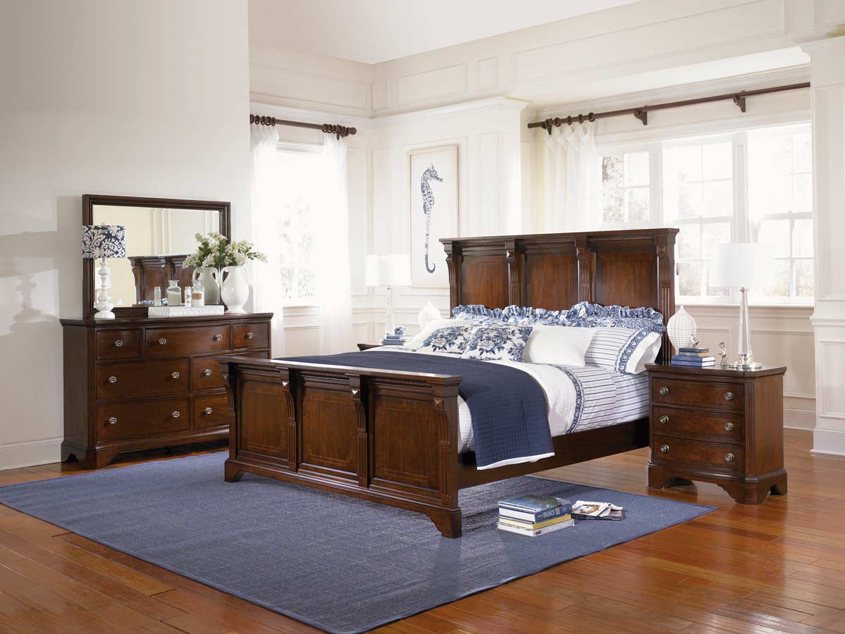 Legacy Classic American Traditions Panel Bedroom Collection