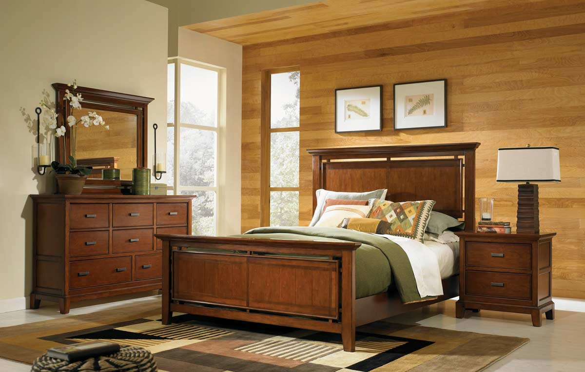 Legacy Classic Autumn Park Panel Bedroom Collection