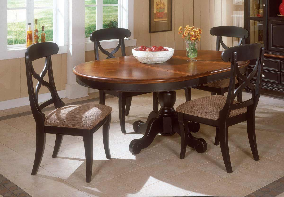Legacy Classic Salem Creek Round Pedestal Extension Dining Collection