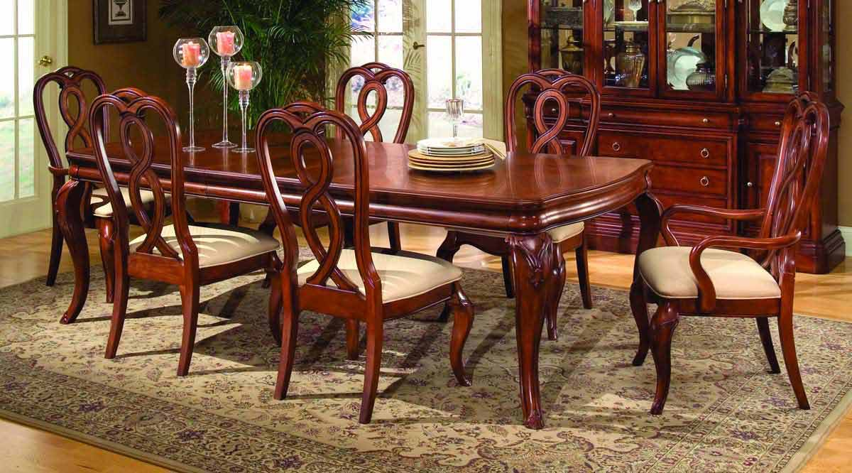 Legacy Classic Vintage Leg Extension Dining Collection with Ribbon Back Chair