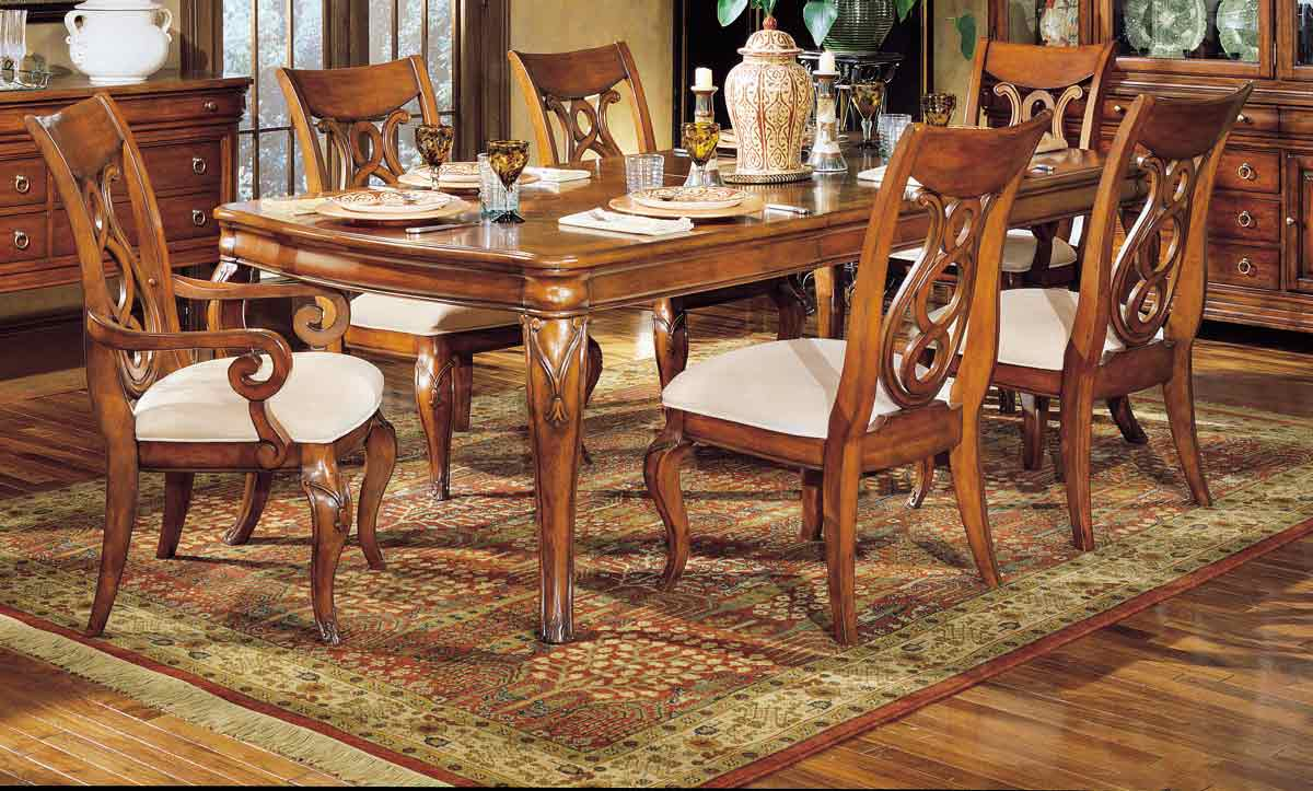 Legacy Classic Vintage Leg Extension Dining Collection with Harp Back Chair