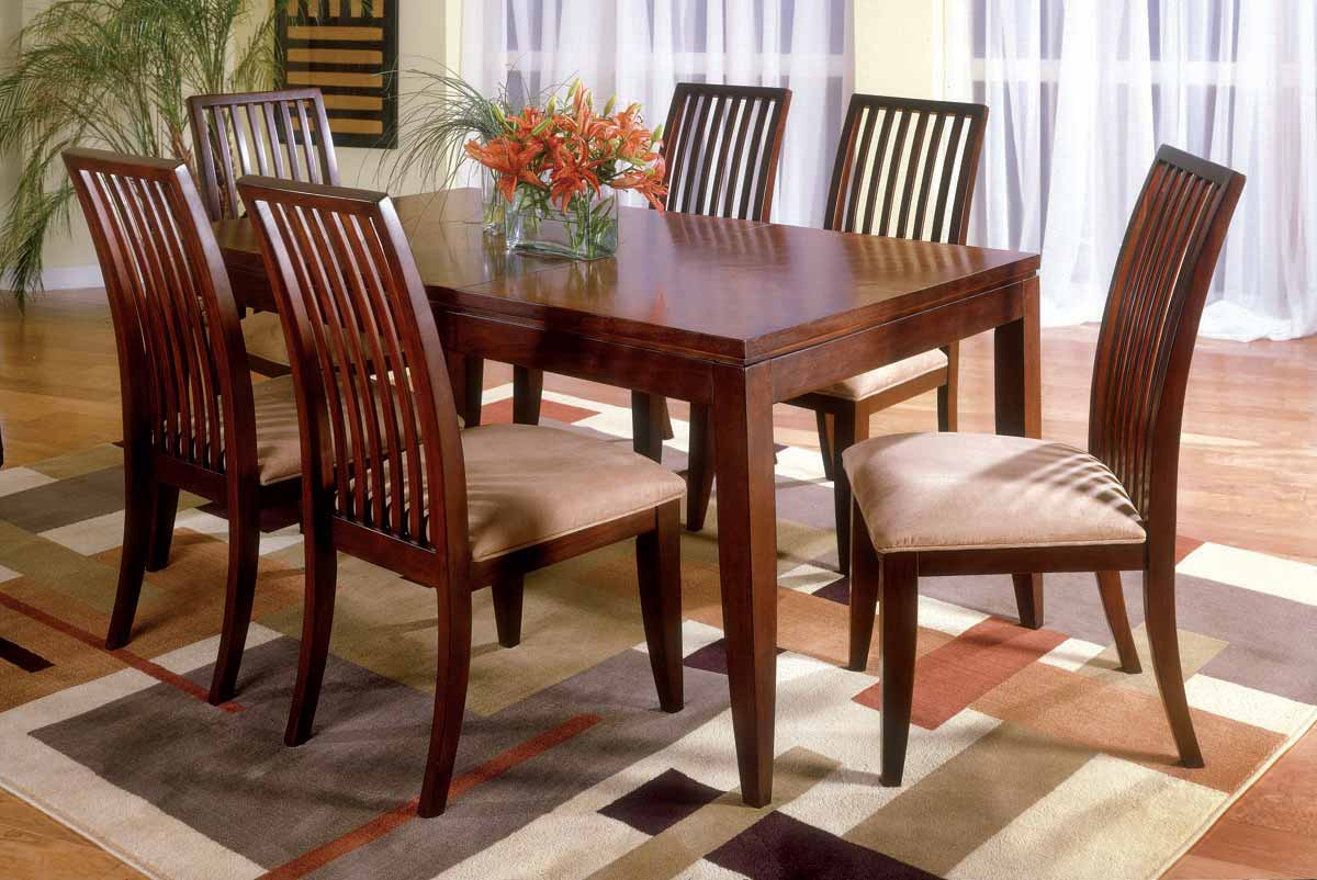Legacy Classic Vogue Casual Leg Dining Collection with Slat Back Chair