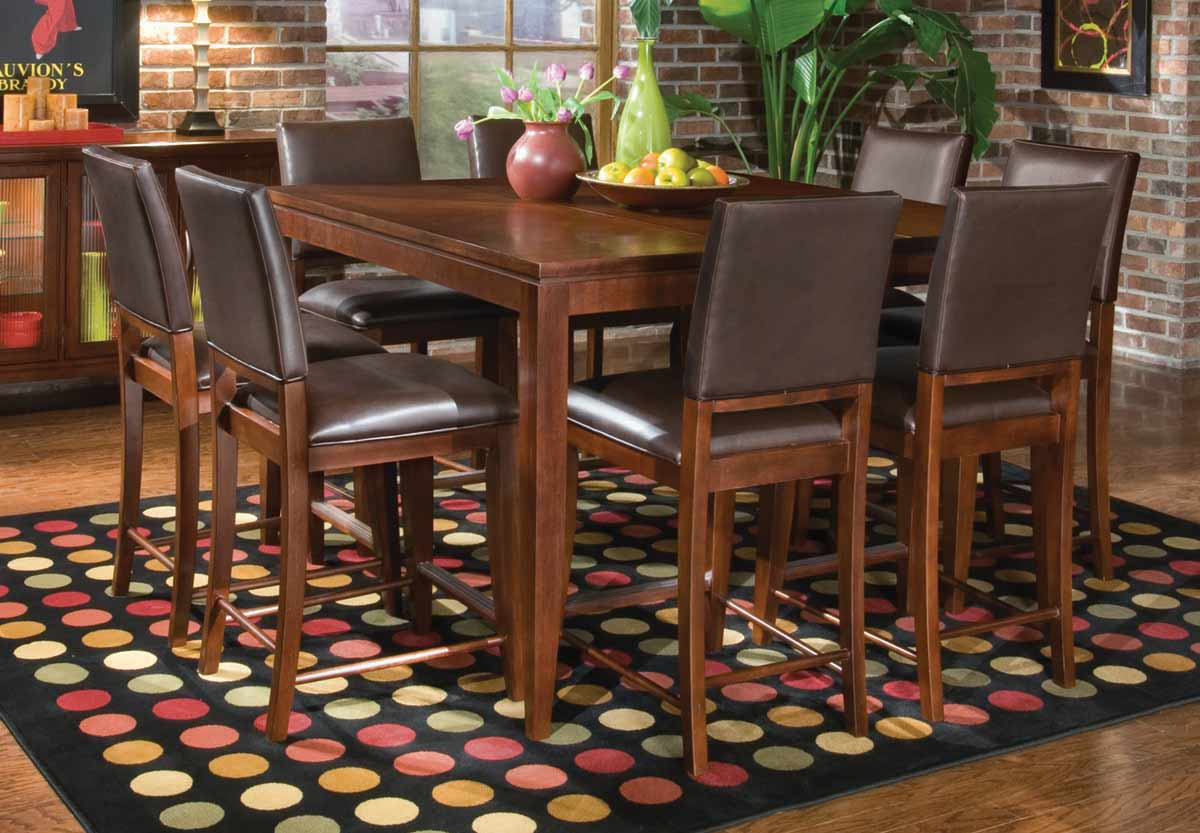 Legacy Classic Vogue Leather Pub Dining Set