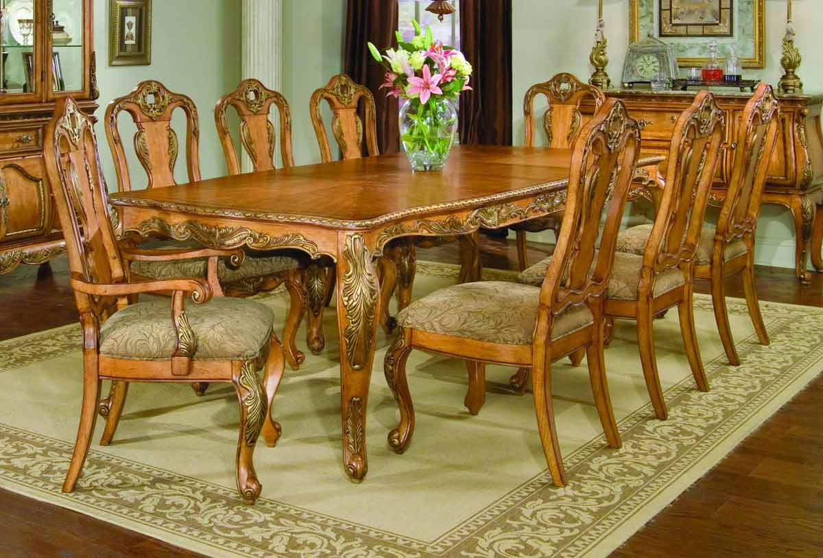 Legacy Classic Versailles Leg Extension Dining Collection with Splat Back Dining Chair