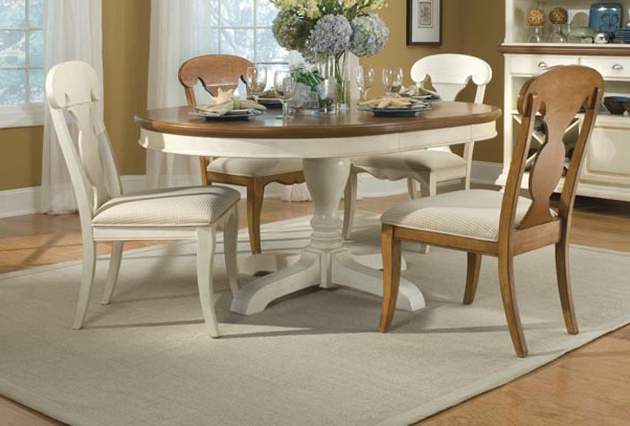 Legacy Classic Dining a la Carte Round Pedestal Extension Dining Collection