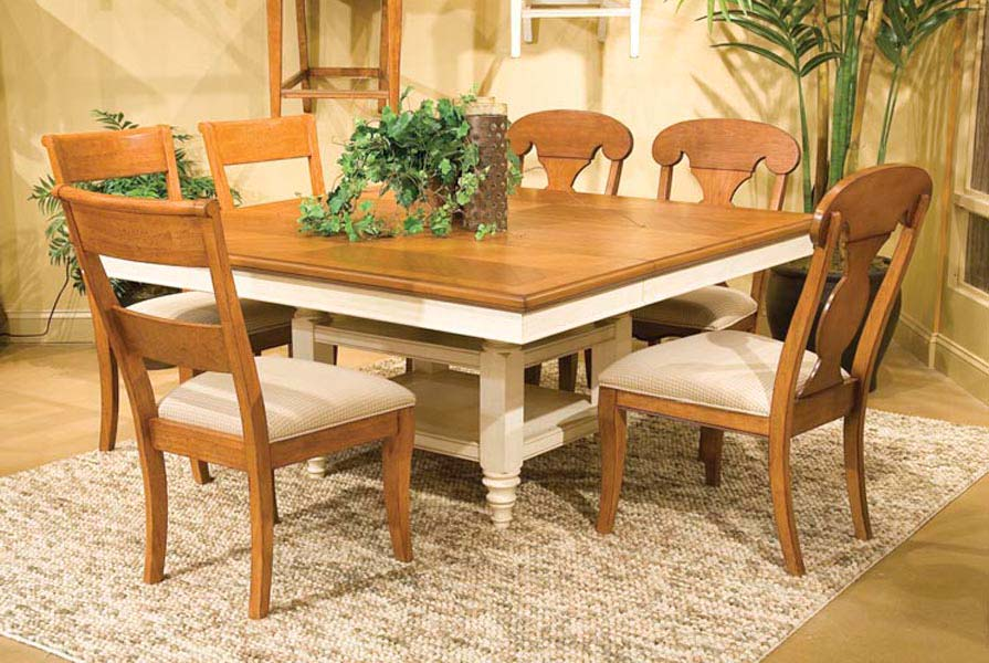 Legacy Classic Dining a la Carte Square Pedestal Extension Dining Collection