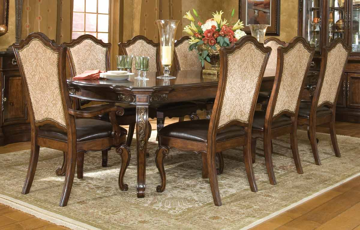 Legacy Classic Tuscan Manor Leg Extension Dining Collection with Upholstered Chair