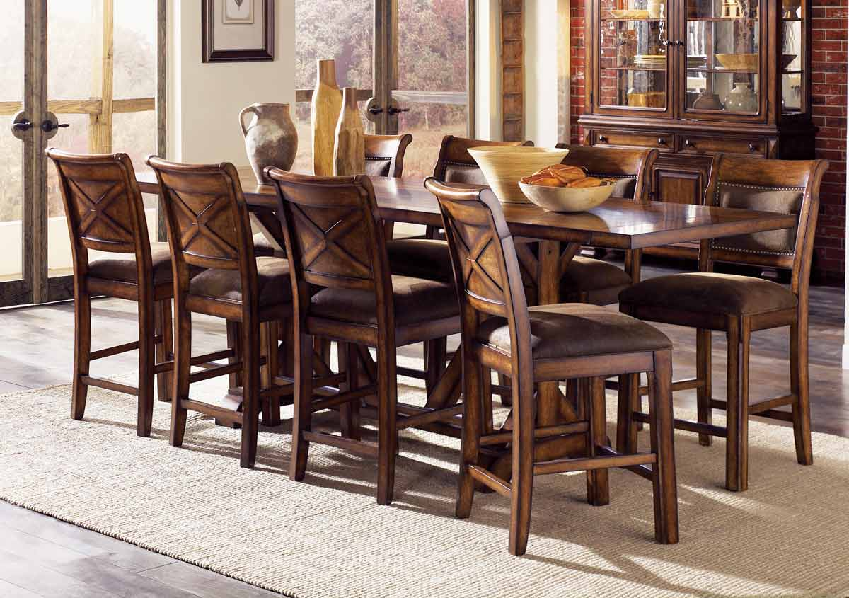 Legacy Classic Larkspur Rectangular Trestle Dining Collection