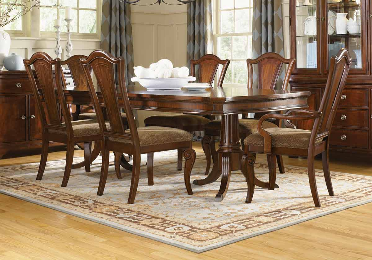 Legacy Classic American Traditions Rectangular Pedestal Dining Collection