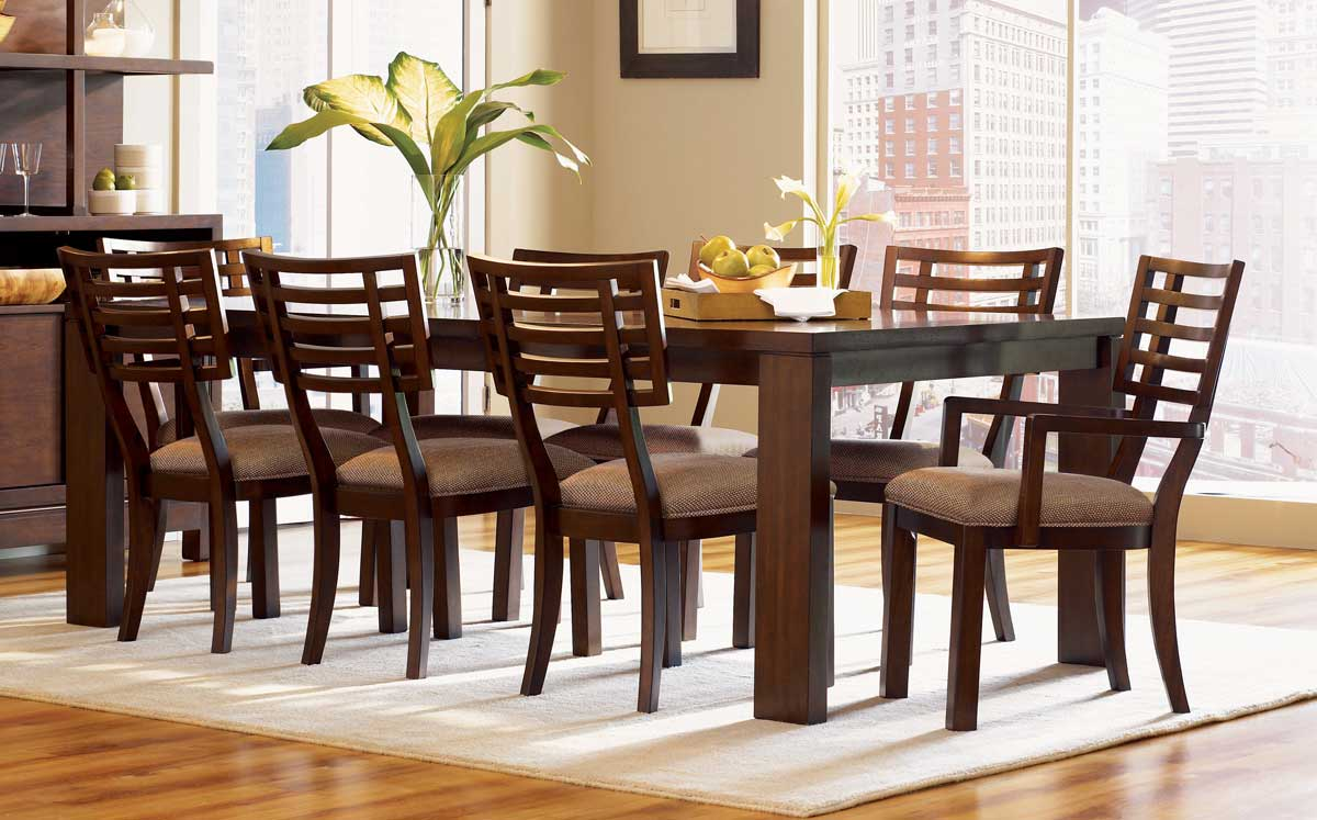 Legacy Classic Perspectives Rectangular Leg Dining Collection