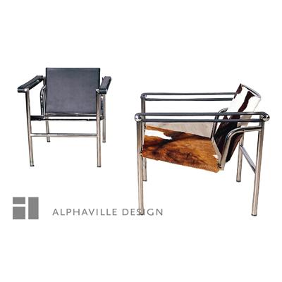 Alphaville Design Corbu Basculant Chair-Alphaville