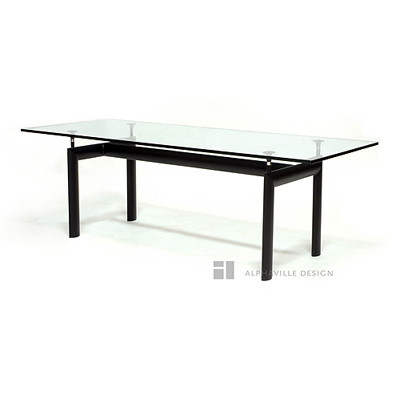 Corbu Dining Table - Knocked Down-Alphaville