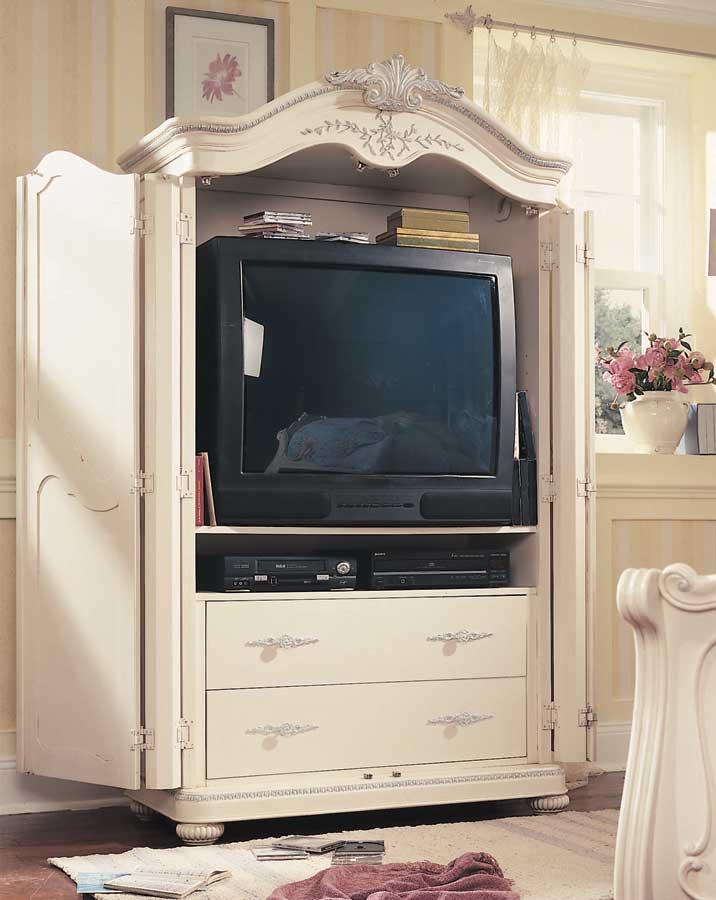 Elegant Lea Jessica McClintock Romance Armoire  Furniture