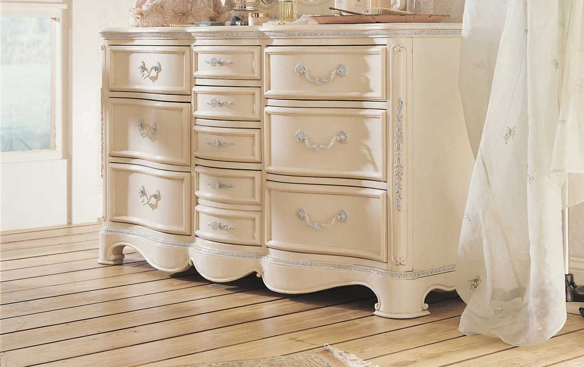 Lea Jessica McClintock Romance 10-Drawer Dresser- Furniture