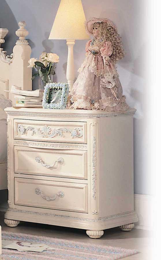 Merveilleux Lea Jessica McClintock Romance 3 Drawer Nightstand  Furniture