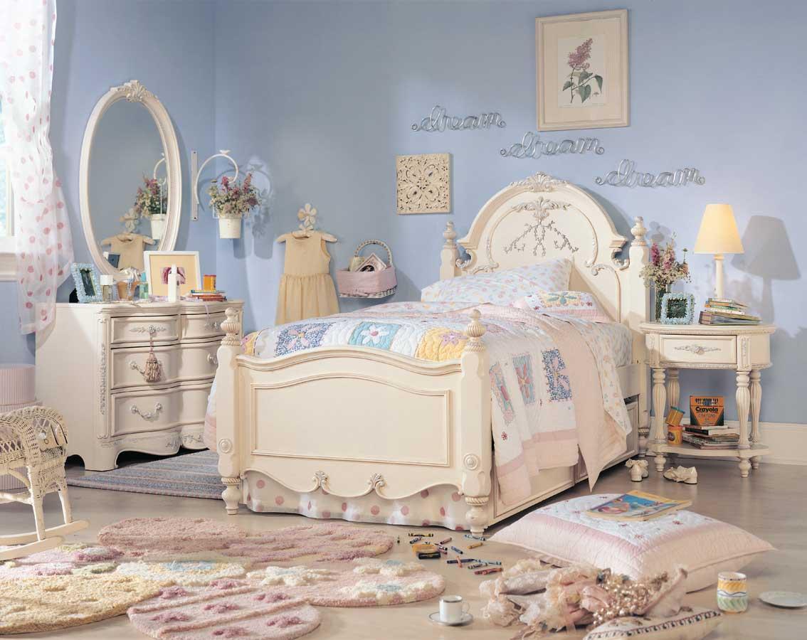 Lea Jessica McClintock Romance Oval Nightstand- Furniture