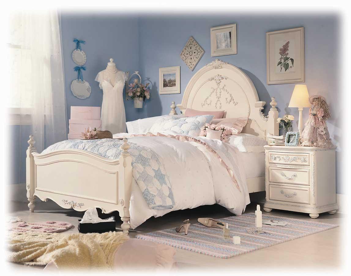 lea jessica mcclintock romance panel bed furniture 203 9x0 2r