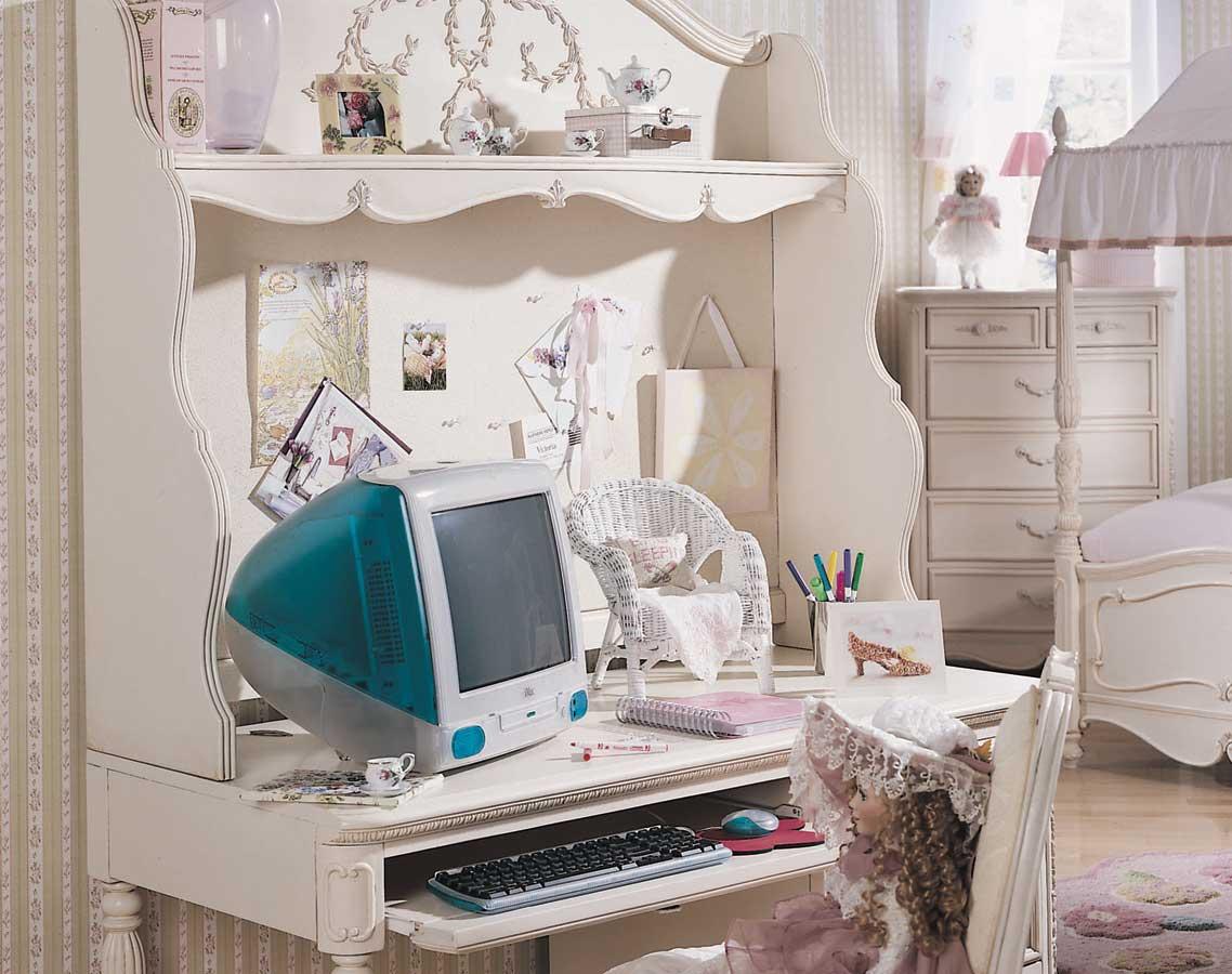 Jessica McClintock Romance - Computer Desk Set, Lea