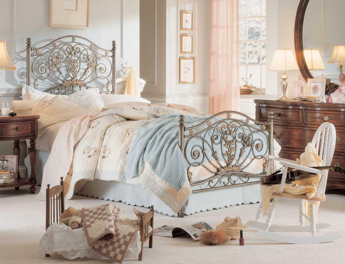 lea jessica mcclintock heirloom metal bedroom collection furniture