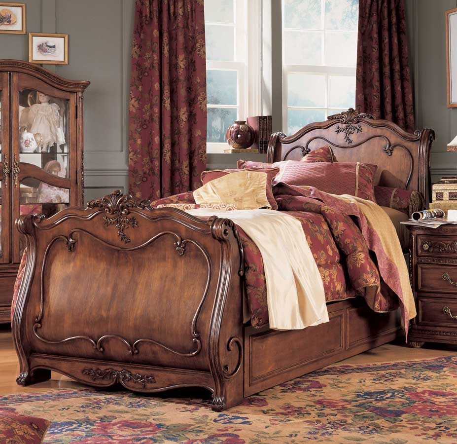 Lea Jessica Mcclintock Heirloom Sleigh Bed Furniture 228