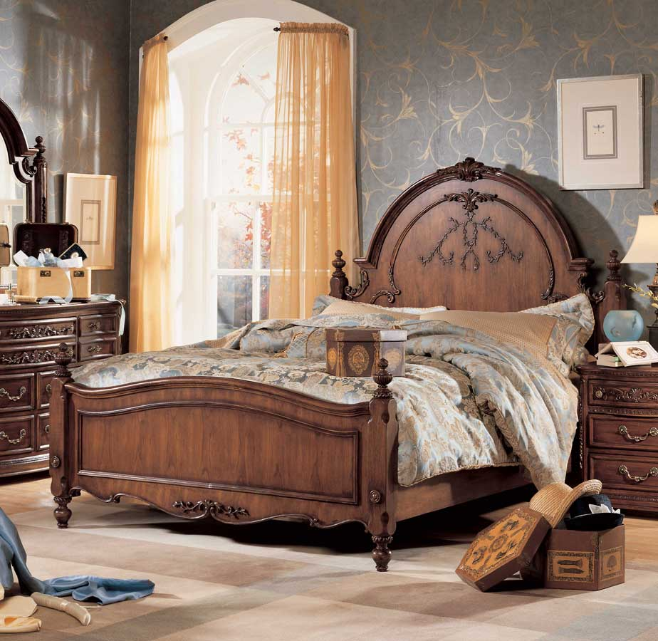 Lea Jessica McClintock Heirloom Panel Bed- Furniture