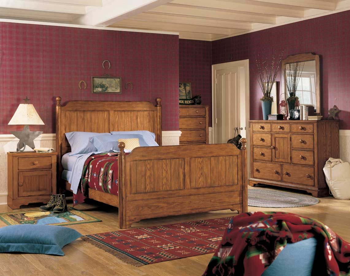 lea jackson creek poster bedroom collection furniture 302