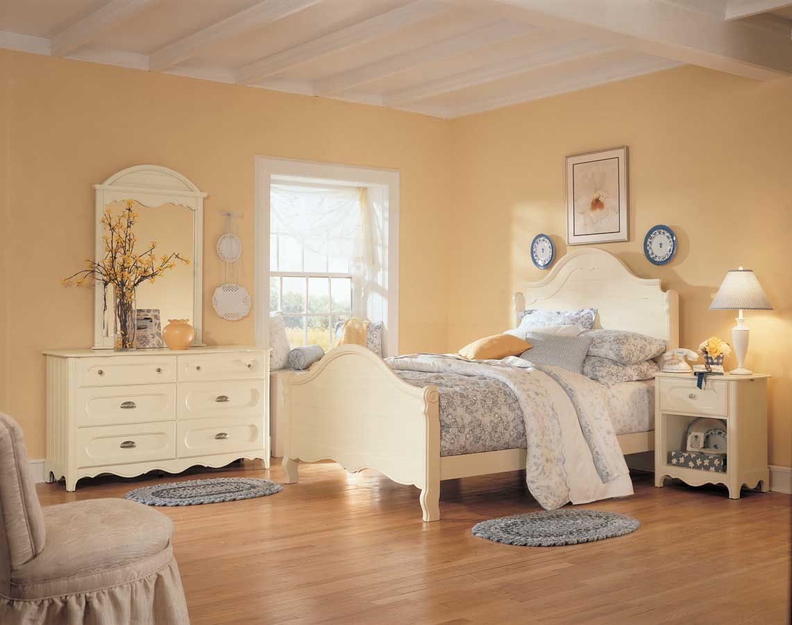 lea summerset cottage bedroom collection furniture 368