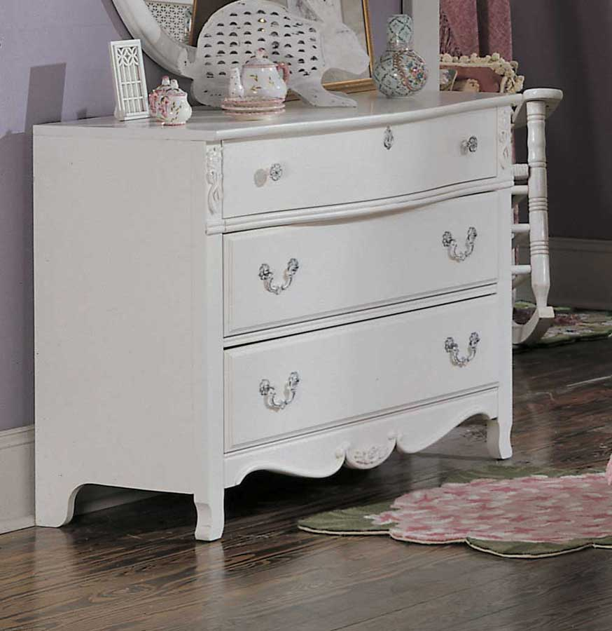 lea victoria 3 drawer dresser furniture 930 231