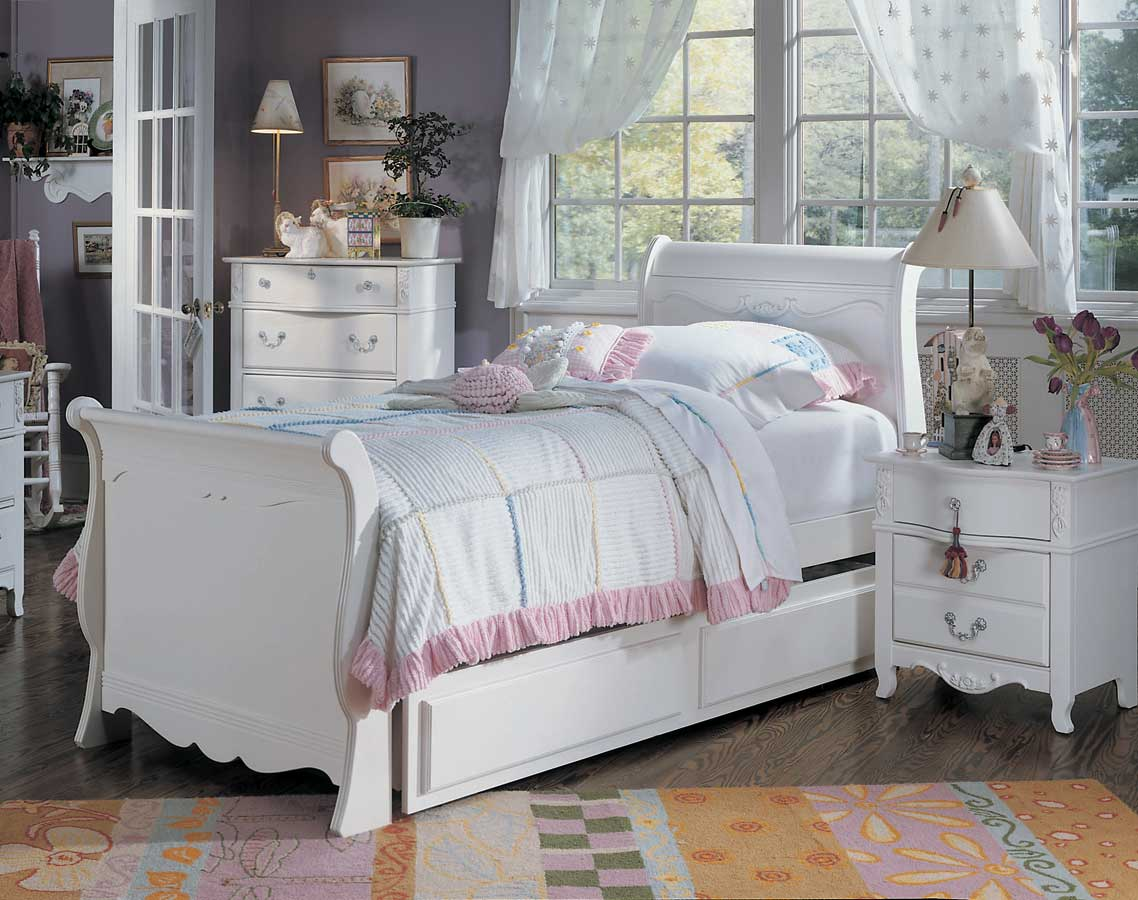 Lea Victoria Sleigh Bed Furniture 930 9x6r Homelement Com