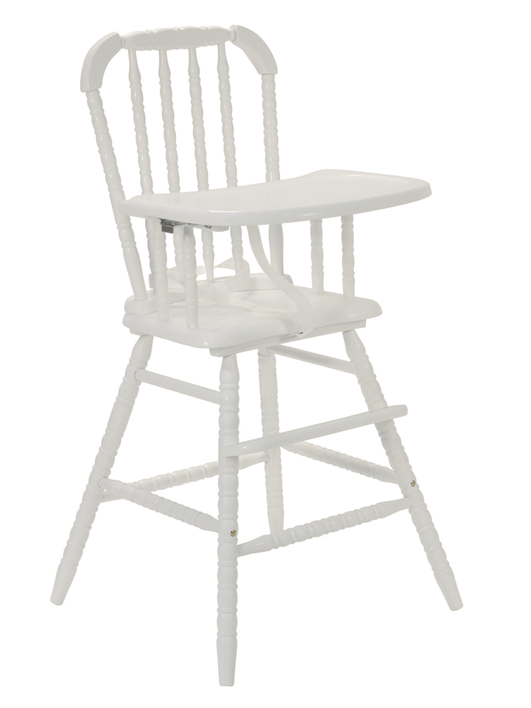 Jenny Lind High Chair White