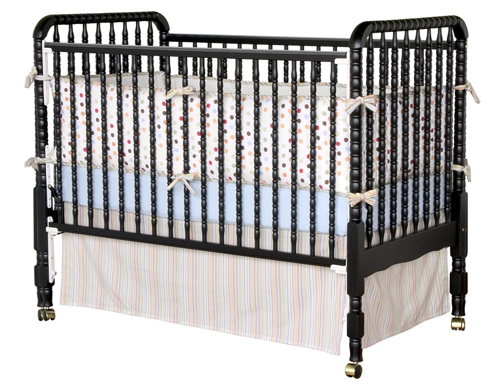 Da vinci jenny lind crib in ebony mdb m0391e for Jenny lind crib