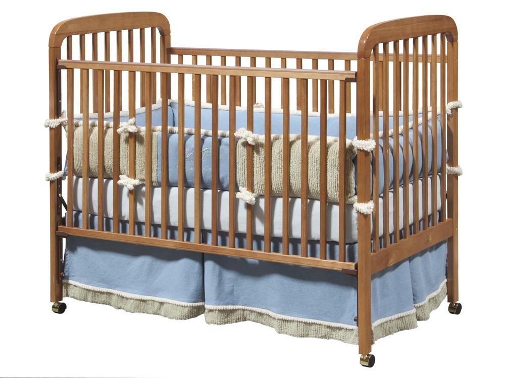 da vinci alpha crib in honey oak mdb