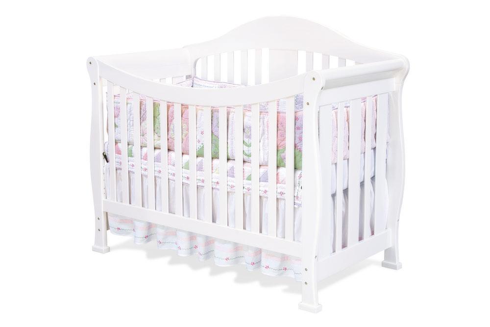 Da Vinci Valerie Convertible Crib In White Mdb M5101w